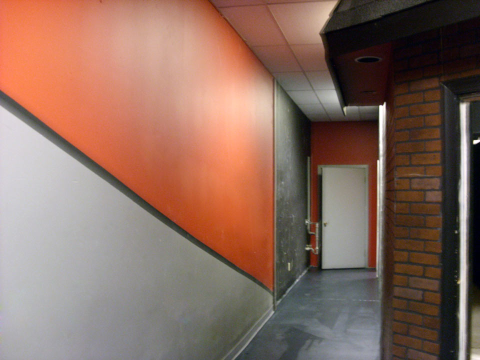 Before - M-Town Studio Hallway
