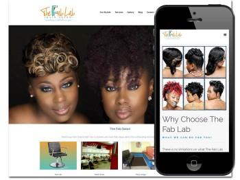 The Fab Lab Hair Salon Memphis, TN Website